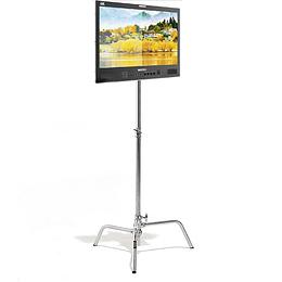 """Arriendo de Monitor Seetec 21.5"""" con c-stand 4K"""