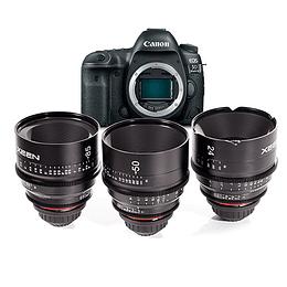 Arriendo de Camara Canon 5D Mk IV con lentes Xeen