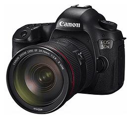 Arriendo de Camara Canon 5Ds con zoom canon 24-70 2.8 Mk II