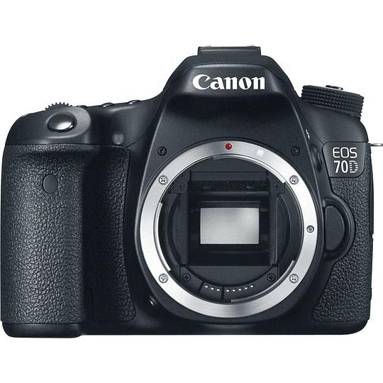 Arriendo de Camara Canon 70D, solo cuerpo.