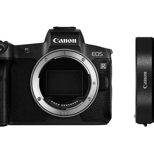 Arriendo de Cámara Canon EOS R con adaptador a Canon EF.