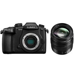 Arriendo de Cámara Lumix GH5 y lente Lumix 12-35mm f/2.8