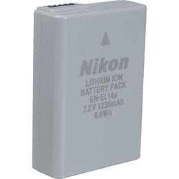Arriendo de bateria nikon EN-EL14A