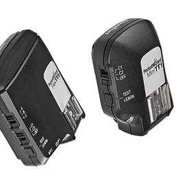 Arriendo de Kit Pocket Wizard FLEX TT5 y MINI TT1 para Canon