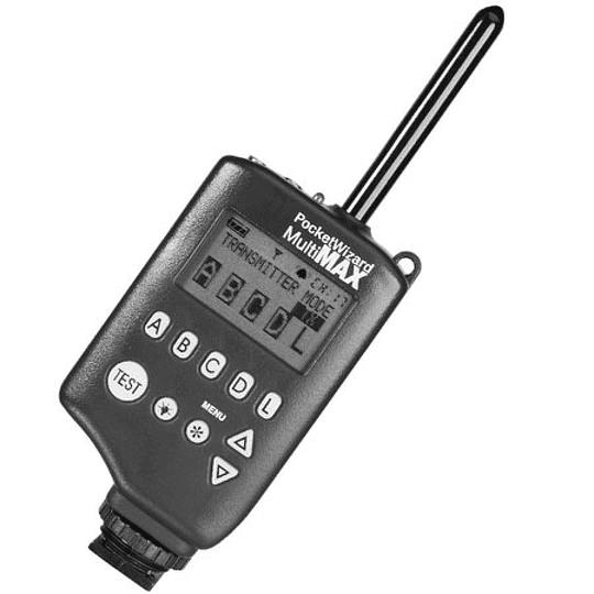 Arriendo de Transmisor Pocket Wizard Multimax