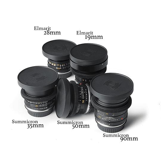 Arriendo de Maleta 5 lentes Leica R Cine Modded, 19-28-35-50-90