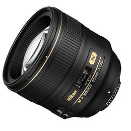 Arriendo de Lente Nikon AF-S NIKKOR 85mm f/1.4G