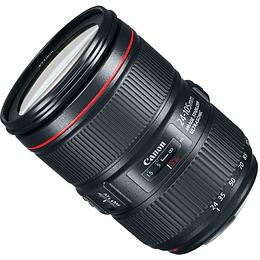 Arriendo de Lente Canon zoom EF 24-105 mm f/4 AF IS L MK II