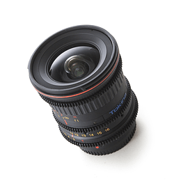 Arriendo de Lente Zoom de Cine Tokina Cinema 11-16mm T3.0 EF