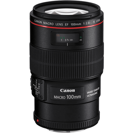 Arriendo de Lente Canon EF Macro 100mm f/2.8 L IS