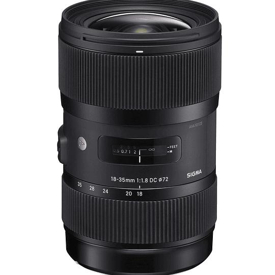 Arriendo de Lente Sigma Sigma 18-35mm f/1.8 DC HSM A para Canon