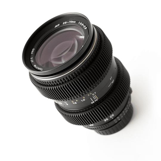 Arriendo de zoom Tokina ATX-Pro I 28-70 mm f2.6-2.8 Nikon-Canon