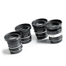 Arriendo de maleta de 4 lentes  Nikon VINTAGE Sony-E
