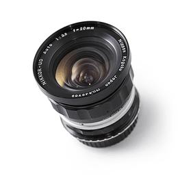 Arriendo de Lente VINTAGE Nikon Nikkor 20mm f3.5 UD