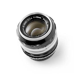 Arriendo de Lente VINTAGE Nikon Nikkor 50mm f1.4