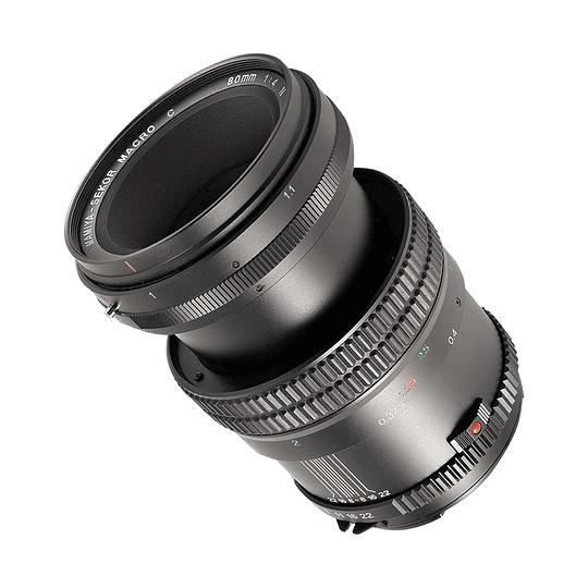 Arriendo de lente Mamiya 80mm f4 macro MF