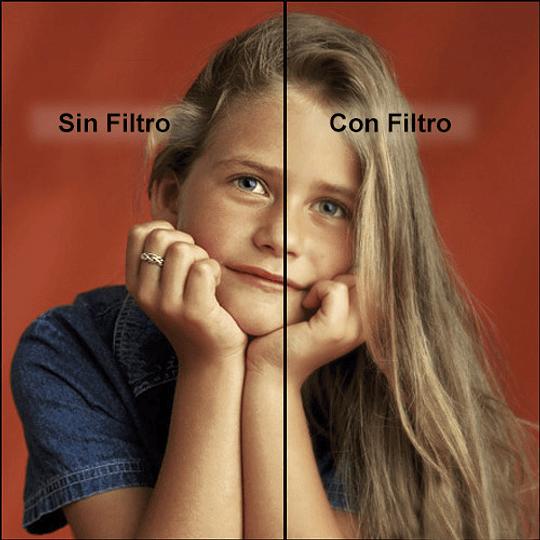 Arriendo de Filtro Tiffen 82mm Soft FX 1/2 (difusor)