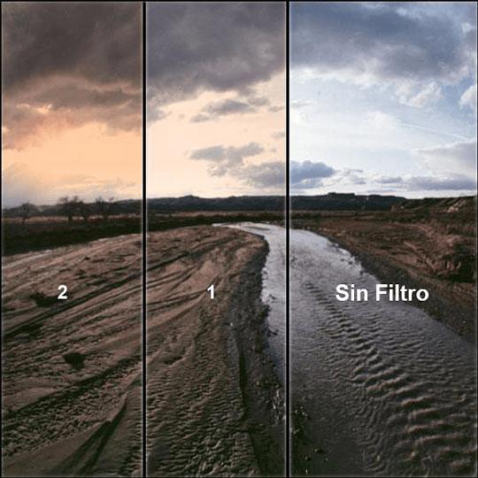 Arriendo de Filtro Tiffen 82mm Sunrise Degradado (amanecer)