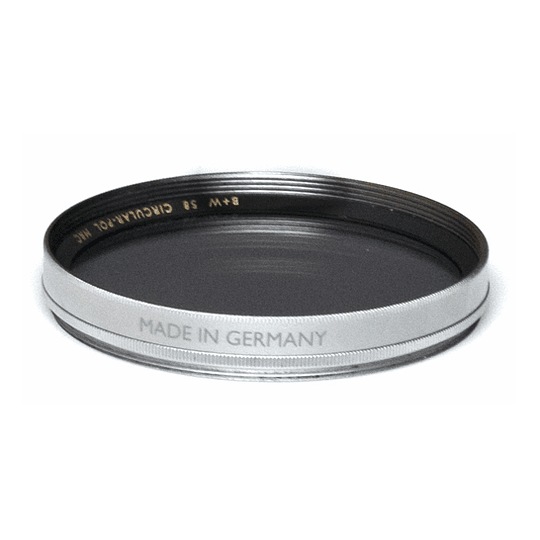Arriendo de Filtro Polarizador Circular B+W 58mm