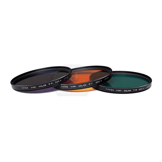 Arriendo de Kit Filtros Tiffen Vari Color SERIE 9