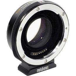 Arriendo Metabones Speed Booster ULTRA II 0.71x Canon a MFT