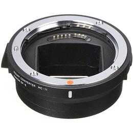 Arriendo de Adaptador Sigma MC-11 , Canon EF a Sony E