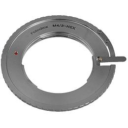 Arriendo de Adaptador Fotodiox para lentes MFT a Sony E