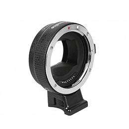 Arriendo de Adaptador Commlite Canon EF a Sony E