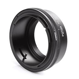 Arriendo de Adaptador Fotga Canon FD a Sony E (sin electrónica)