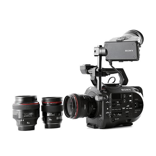 Arriendo de Camara Sony PXW-FS7 con 3 lentes Prime Canon