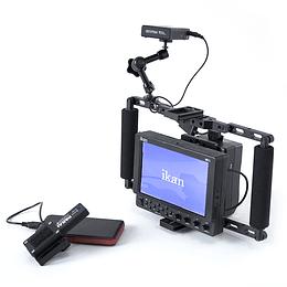"Arriendo de Kit de Video Assist con Transmisor IDX CW-1 y Monitor de 7"""