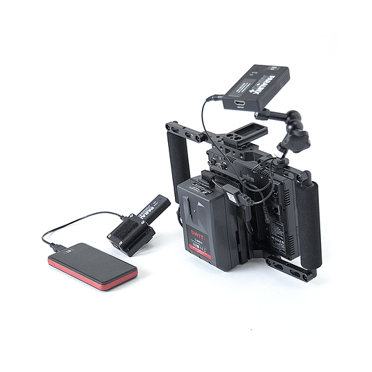 Arriendo de Kit de Video Assist con Transmisor IDX CW-1 y Monitor de 7