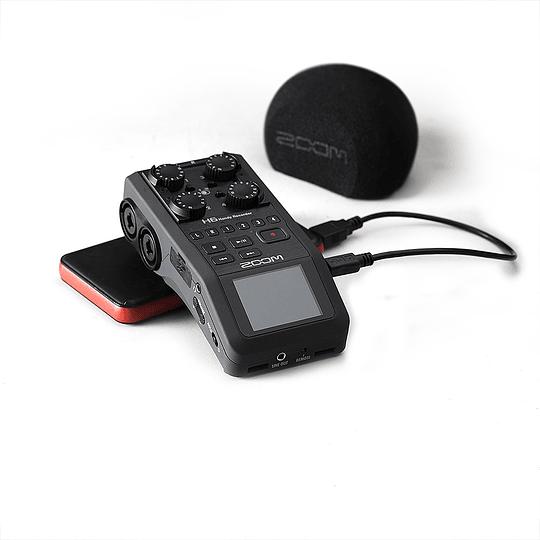 Arriendo de Grabador Zoom H6 sin micrófonos
