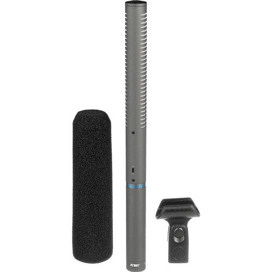 Arriendo de Micrófono Direccional Audio Technica AT 897