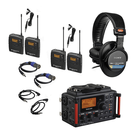 Arriendo de Pack de Audio Grabador 1