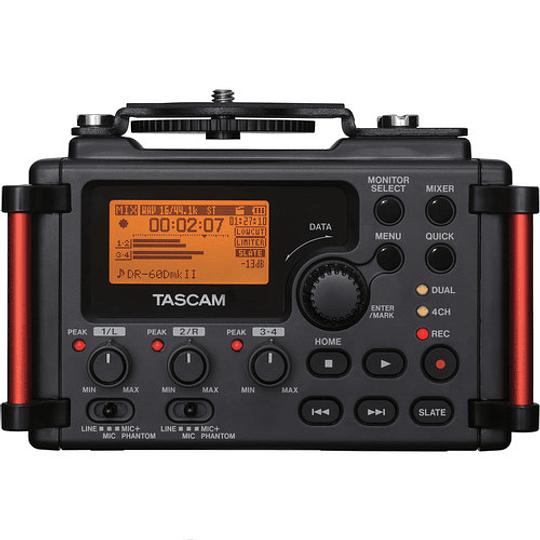 Arriendo de Grabador Tascam DR-60D MK II