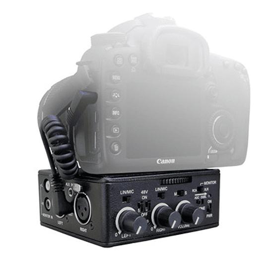 Arriendo de Adaptador Activo de Audio Beachtek DXA-SLR