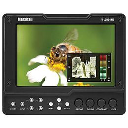 "Arriendo de Monitor Marshall 5.6"" HDMI y 3G/SDI"