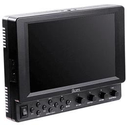"""Arriendo de Monitor de Campo Ikan VX7i 7"""" con 3G-SDI / HDMI"""