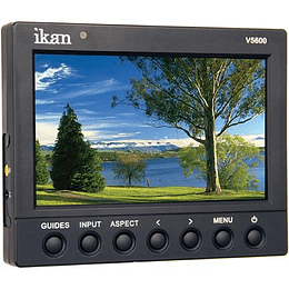 "Arriendo de Monitor de Campo Ikan V5600 5.6"" con HDMI"