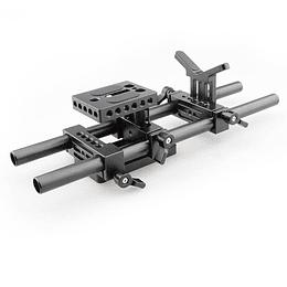 Arriendo de Base Plate Camvate para DLSR con soporte de lente