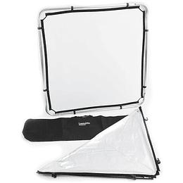 Arriendo de Kit de Marco Reflector-Difusor Lastolite Skylite de 110x110cm