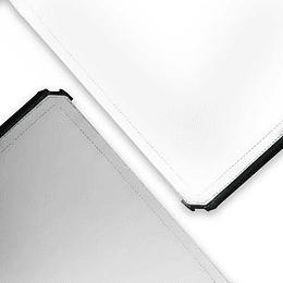 Arriendo de Tela para Scrim Jim 42x42 Blanco/Plata (100x100cm)