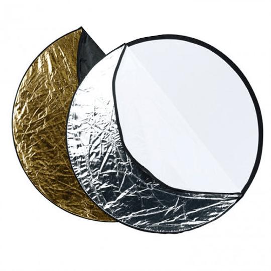 Arriendo de Reflector Westcott Circular Plegable 5 caras 100cm