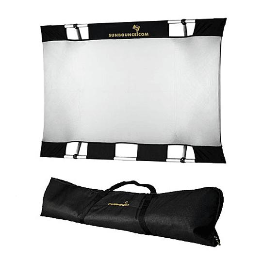 Arriendo de Reflector Sunbounce 3x4 blanco/plata (90x120cm)
