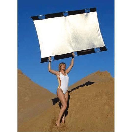 Arriendo de Reflector Sunbounce 6x8 blanco/plata (180x240cm)