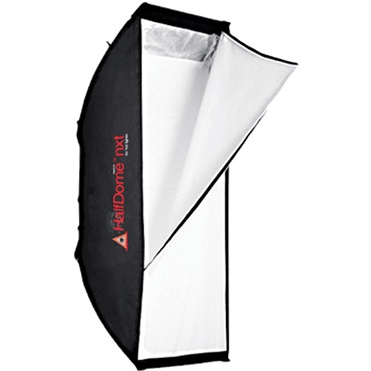 Arriendo de Softbox Photoflex Strip NXT (Halfdome S) 25x90cm (hasta 2000w)