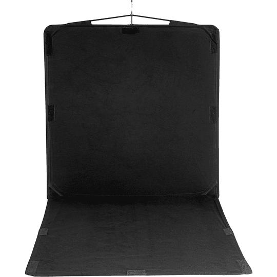 Arriendo de Bandera Avenger Negra 48x96 (120x240cm)