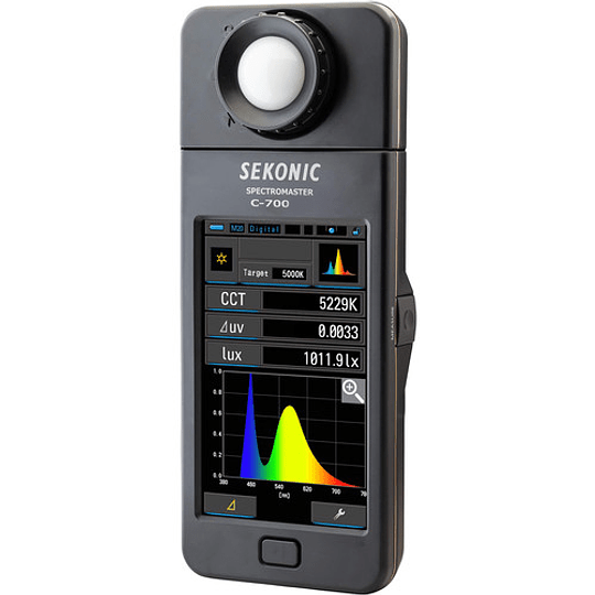Arriendo de Espectrómetro Sekonic C-700