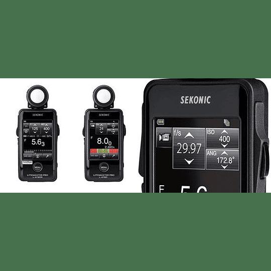 Arriendo de Exposímetro Sekonic L-478D (flashmeter)